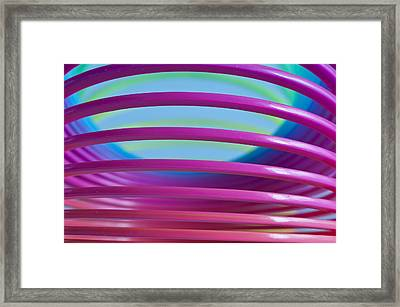 Rainbow 9 Framed Print by Steve Purnell