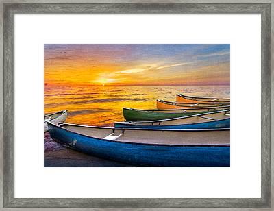 Rainbow Armada Framed Print