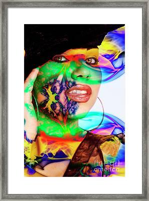 Rainbow Beauty Framed Print
