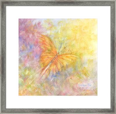 Rainbow Butterfly 3 Framed Print