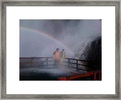 Rainbow Crazy Framed Print by Matthew Slowik