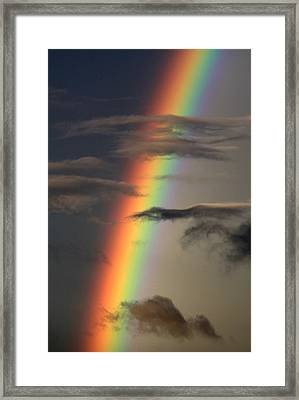 Rainbow Islands Framed Print by J Vincent Scarpace