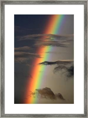 Rainbow Islands Framed Print
