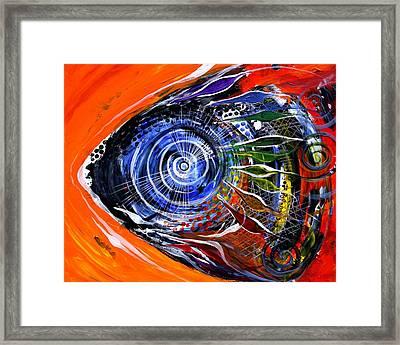 Rainbow Left ... Again Framed Print