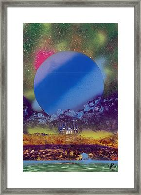 Rainbow Nova Framed Print by Marc Chambers