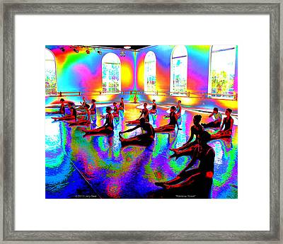 Rainbow Room Framed Print
