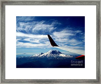 Rainier The Beautiful  3 Framed Print