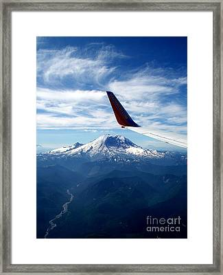 Rainier The Beautiful  4 Framed Print