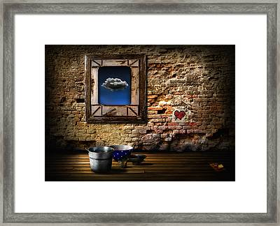 Raining In My Heart Framed Print
