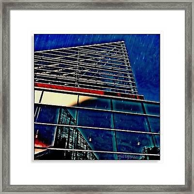 Rains Reflection Framed Print