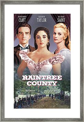 Raintree County, Montgomery Clift Framed Print by Everett