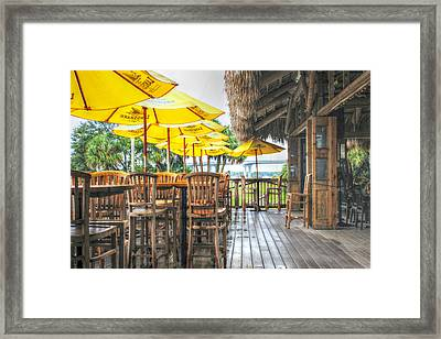 Rainy Afternoon At The Oar House Framed Print