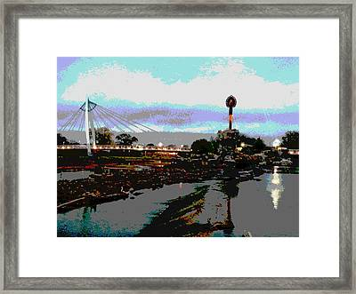 Rainy Day Framed Print by David Alvarez