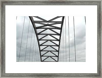 Rainy Day Geometry 1 Framed Print