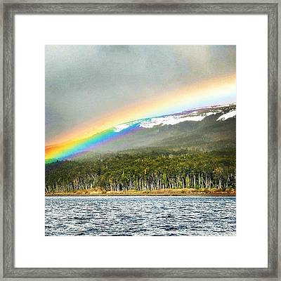 #rainy #day In #cabosanisidro Framed Print