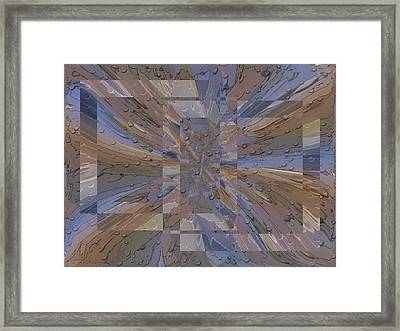 Rainy Day Portal 1 Framed Print by Tim Allen