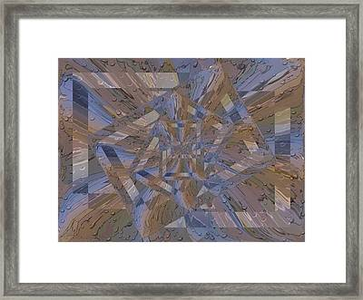 Rainy Day Portal 4 Framed Print by Tim Allen