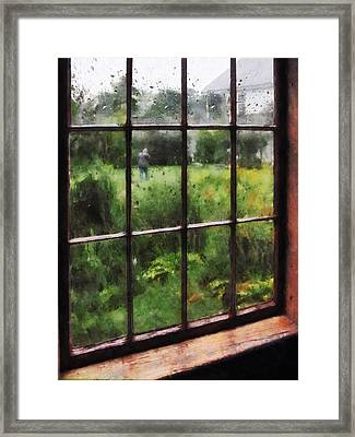 Rainy Day Framed Print by Susan Savad
