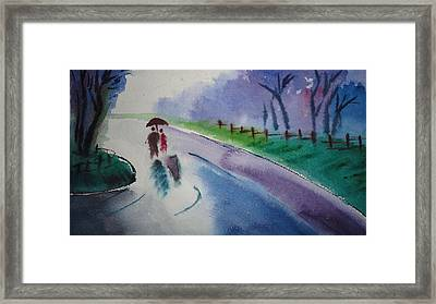 Rainy Season Framed Print by Vijayendra Bapte