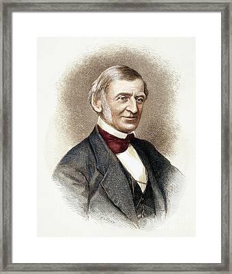 Ralph Waldo Emerson   Framed Print