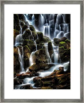 Ramona Falls Framed Print by Paul Bartell