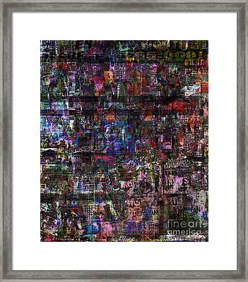 Random 515 Framed Print
