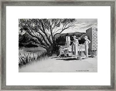 Randwick Framed Print by Richard Baptiste