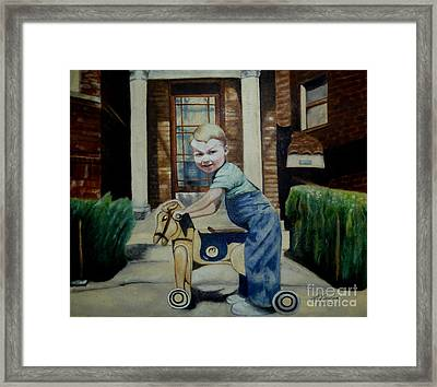 Randy 1949 Framed Print