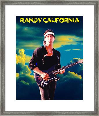 Randy In The Clouds 2 Framed Print by Ben Upham