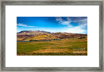 Range Land Framed Print by Robert Bales