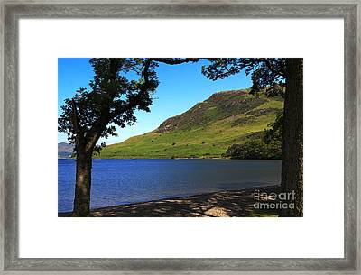 Rannerdale Knotts And Crummock Water Framed Print