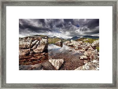Rannoch Moor  Scotland Framed Print by Fiona Messenger