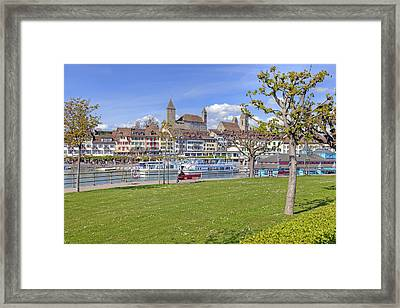 Rapperswil Framed Print by Joana Kruse