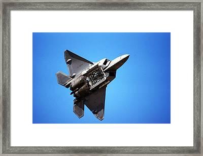 Raptor Revealed Framed Print by Michael Courtney