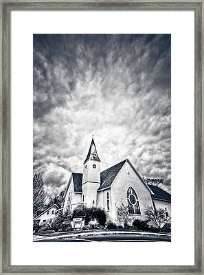 Rapture Framed Print by Donni Mac