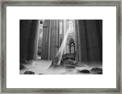Rapture Framed Print by Keith Kapple