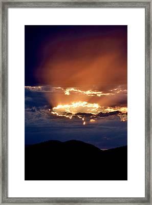 Rapture Framed Print by Kevin Bone