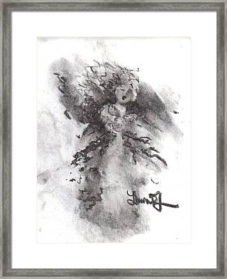 Rapture Of Peace Framed Print