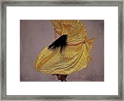Raqs Sharqi Framed Print by Odd Jeppesen