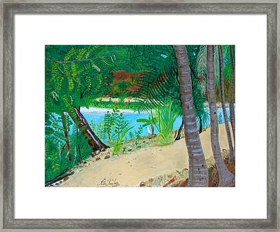Rare Visitor Framed Print by Nicole Jean-Louis