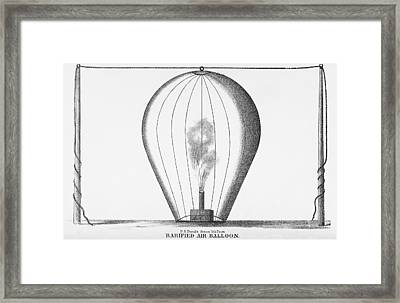 Rarified Air Balloon Framed Print by Science, Industry & Business Librarynew York Public Library