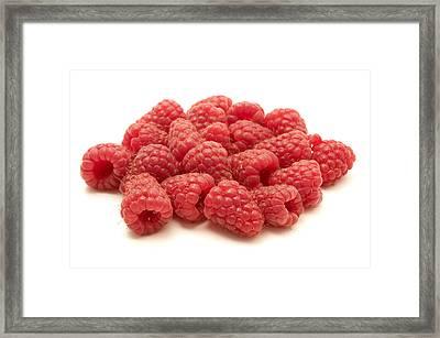 Raspberries Framed Print by Fabrizio Troiani