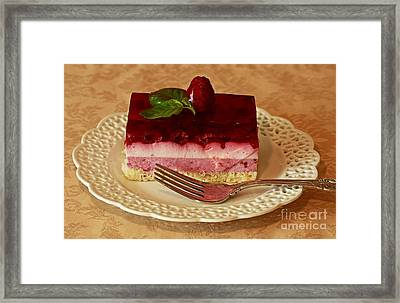 Raspberry Heaven Framed Print by Inspired Nature Photography Fine Art Photography
