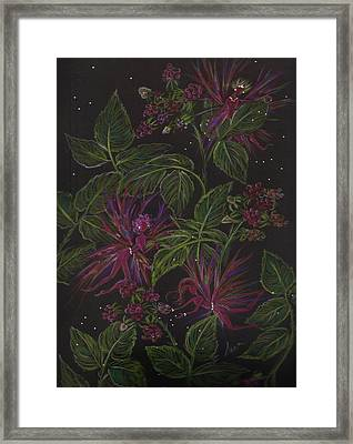 Raspberry Hunting Framed Print by Dawn Fairies