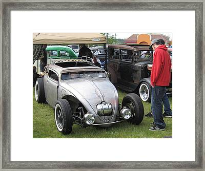 Rat Rod Many Parts Framed Print by Kym Backland