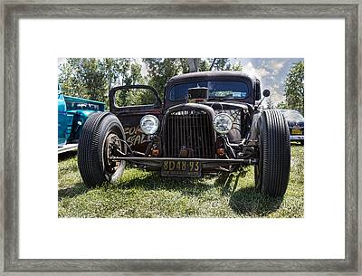 Rat Rod Framed Print by Peter Chilelli
