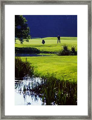 Rathsallagh Golf Club, Co Wicklow Framed Print by The Irish Image Collection
