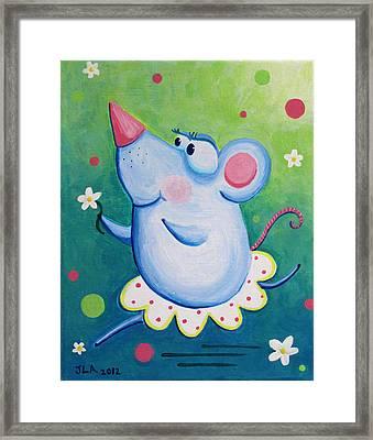 Ratterina Framed Print by Jennifer Alvarez