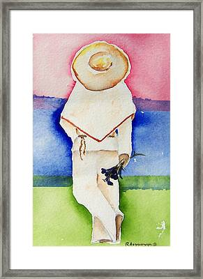 Raul Framed Print by Regina Ammerman