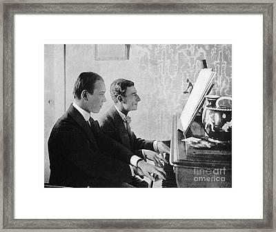 Ravel And Nijinsky Framed Print by Granger